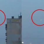 Penampakan UFO di Atas St Petersburg