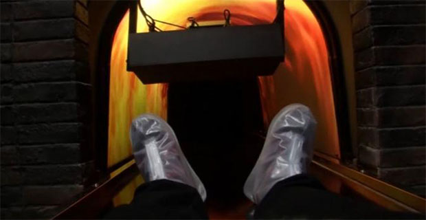 Mungkin Anda Yang Bernyali Besar Bisa Memcoba Simulator Kematian dan Kremasi