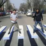 Zebra Cross 3D Digunakan Untuk Kurangi Atasi Tingginya Tingkat Kecelakaan Lalu Lintas