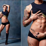Foto yang Bertema Feminisme Ini Menunjukkan Otot Wanita