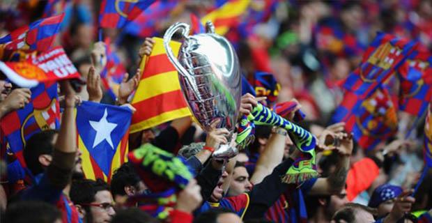 Pendukung Barcelona Dilarang Membawa Bendera Catalan di Final Copa Del Rey