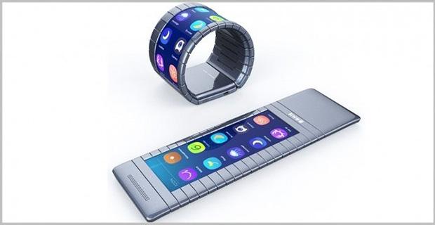 Inilah Bentuk Smartphone Lengkung Pertama di Dunia yang Berasal Dari China