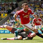 Gol Tunggal Mata Membawa MU Menang Atas Norwich