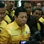 Ade Komarudin Mundur, Setya Novanto Terpilih Jadi Ketua Umum Golkar