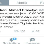 Ahmad Dhani Akan Datangi Polda Metro Jaya Untuk Mencari Kapolda Metro