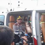 Kapolri Jendral Tito Melakukan Pantau Arus Balik Dari Udara