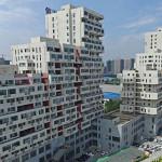 Bangunan Yang Ada di Tiongkok Ini Sangat Mirip Dengan Permainan Tetris