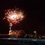 Jembatan Suroboyo Dengan Air Mancur Yang Bisa Menari Diresmikan Oleh Risma
