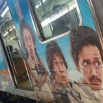 "Para Penumpang Dihebohkan Dengan Poster ""Warkop DKI Reborn"" Yang Ada di Gerbong KRL"