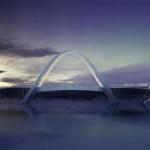 Keren, Jembatan Ini Terinspirasi Dari 5 Cincin Olimpiade
