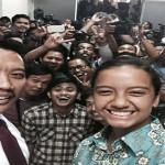 Mempora Berteima Kasih Kepada Jokowi-Jk Sebab Gloria Jadi Paskibraka