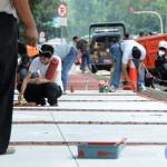 Ahok Kesal Pemotor di Jakarta Masih Suka Masuk Trotoar
