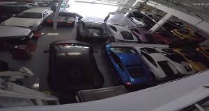 Diler Lamborghini Ini Menjadi Penampungan Supercar Akibat Badai Matthew