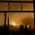 Kebakaran di Pasar Waru Semarang Menghanguskan 511 Petak Milik Pedagang