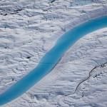 Greenland Memiliki Blue River yang Menyerupai Naga Biru