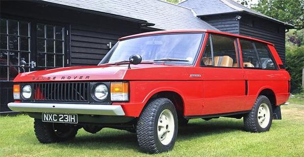 Mobil Pertama yang Diproduksi Range Rover Dilelang