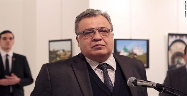 Begini Penampakan Penembak Duta Besar Rusia Untuk Turki