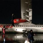 Wings Air yang Tergelincir di Bandara Semarang Berhasil Dievakuasi