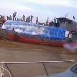 Penyelundup Menyerang Kapal Bea Cukai di Sumut