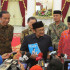 Presiden Jokowi Bertemu dengan Habibie dan Try Sutrisno