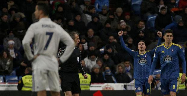 Real Madrid Tumbang Di Tangan Celta Vigo