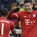Bayern Muenchen Gunduli Hamburg 8-0 Lewat Aksi Gemilang Lewandowski yang Mencetak Hattrick
