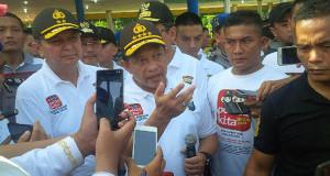 Kapolri Meluncurkan Aplikasi Online Kepolisian di Medan