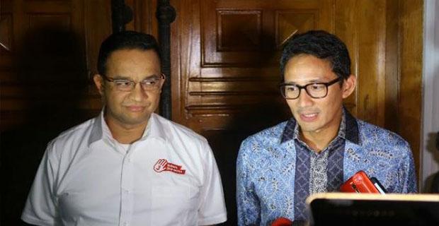 Prabowo Bersama Anies dan Sandi Menemui Aburizal