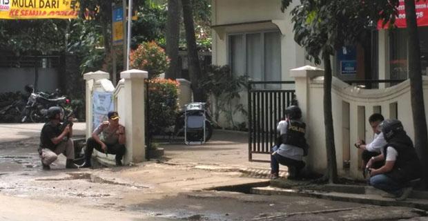 Tersangka Bom Panci dan Aparat di Cicendo Bandung Terlibat Baku Tembak