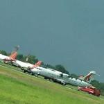 Bandara Halim Sempat Ditutup Satu Jam Pasca Ban Pecah Pesawat Pelita Air