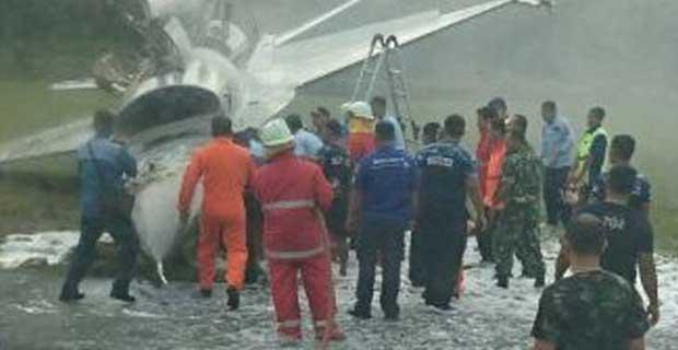 Bandara Pekanbaru Ditutup Sementara Akibat Kecelakaan Pesawat F16