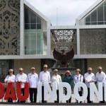Presiden Jokowi Makan Siang di Warung yang Berjarak 4 Km dari Malaysia