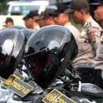 Kepolisian Gelar Patroli Skala Besar Mengamankan Pemungutan Suara 19 April
