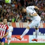 Real Madrid Ditahan Imbang Atletico 1-1
