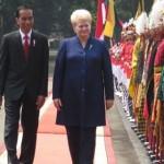 Pak Jokowi Sambut Kunjungan Presiden Lithuania dengan Upacara Kenegaraan