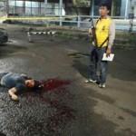 Dua Anggota Brimob Ditikam Menggunakan Pisau Sangkur