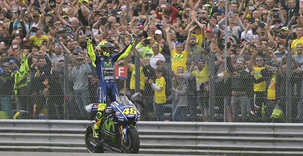 Valentino Rossi Waspadai Marquez untuk Balapan di Jerman