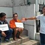 Kepolisian Gelar Rekonstruksi Perampokan Sadis di SPBU Daan Mogot
