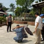 Tiga Aparat Kepolisian Dihukum Push Up Akibat Positip Narkoba