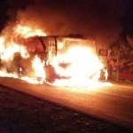 Pernyataan Dari Sopir Yang Mengendarai Bus Sugeng Rahayu Kemudian Terbakar Di Madium