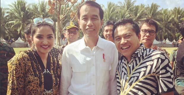 Ashanty Puji Jokowi yang Sebelumnya Bukan Pendukung Jokowi