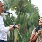 Petani Wanita yang Membuat Hati Jokowi Senang