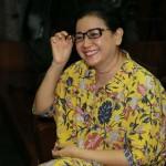 Miryam Haryani Tebar Senyum Berharap Divonis Bebas