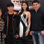 Miss Universe 2017 Foto Bareng Keluarganya