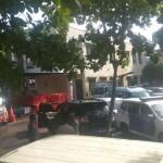 Mobil Novanto yang Kecelakaan Masih Terpampang di Pancoran