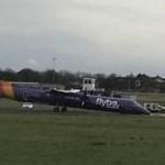 Pesawat Flybe Mendarat Darurat Karena Roda Gagal Membuka