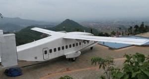 Bandung Memiliki Tempat Unik dengan Pesawat di Atas Gunung
