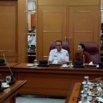 Gubernur Anies Gelar Rapat Empat Mata dengan Menteri Rini