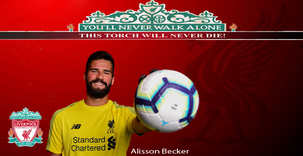 Welcome Alisson Becker!!