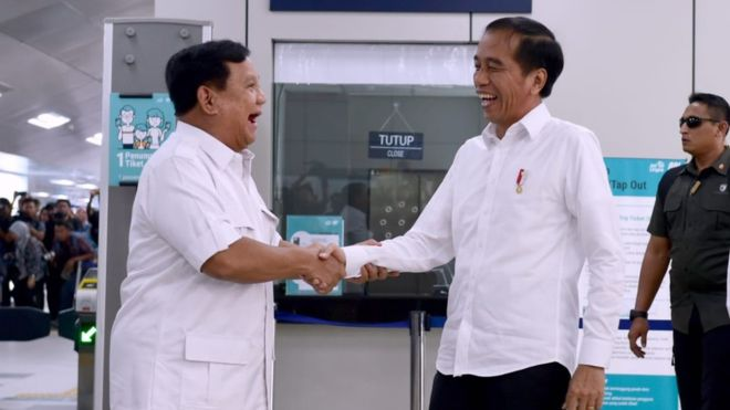 Pertemuan Jokowi dan Prabowo di Dukung PSI